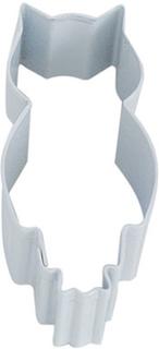 Hvit Ugle Kakekutter 8 cm