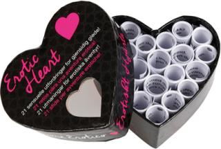 Erotic Mini Heart - Erotisk Spill