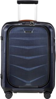 Samsonite Lite-Biz koffert med 4 hjul, 55 cm, Marineblå