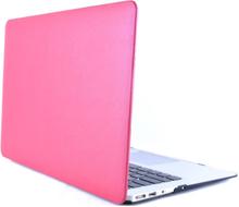 """Lädertäckt skal till macbook air 11"""" rosa"""