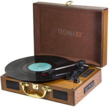 TX-101 - turntable with digital recorder Platespiller - Brun