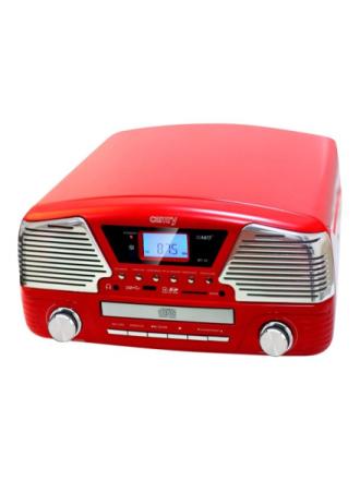 CR 1134 - audio system Pladespiller - Rød
