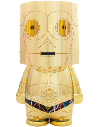 Lisensiert Star Wars C-3PO Nattlampe - Deluxe Edition 25 cm