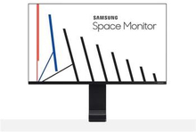 "Samsung Space Monitor S27R750 27"""" 16:9 Bezelless 2560x1440 QHD VA, 4ms, HDMIx1,mDPx1"