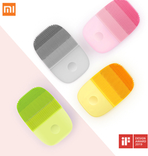 Xiaomi inFace Sonic Face Brush Cleanser Electric Deep Facial Cleansing Massager Waterproof Silicone Ultrasonic Skin Scrubber