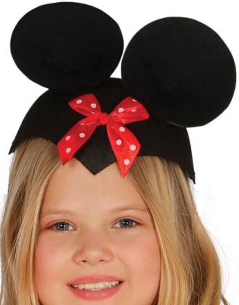 Minni Mus Hatt Til Barn med Ører og Sløyfe