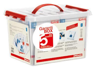 Miele 5 års Garanti Box Udvidet garanti + 4 pk poser. 6 stk. på lager