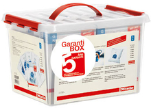 Miele 5 års Garanti Box Udvidet garanti + 4 pk poser. 10 stk. på lager