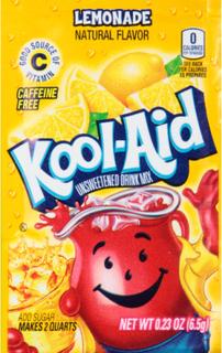 1 stk Kool-Aid Lemonadepulver med Sitron Smak (USA Import)