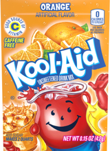 1 stk Kool-Aid Lemonadepulver med Appelsinsmak (USA Import)