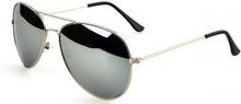 Pilot Solglasögon med Silverbåge i Pilotmodel 1 st