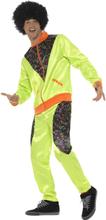 80-talls Neongrønn Grilldress Kostyme