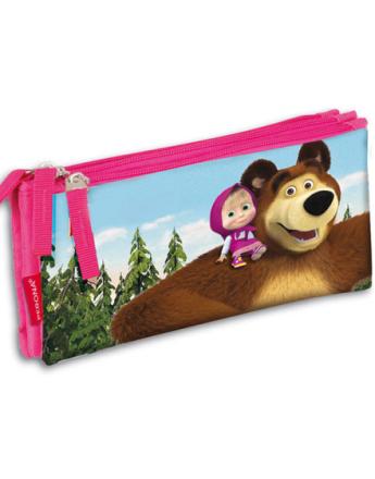 Masha and the Bear Trippelt Rosa Penal 10x22 cm