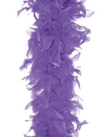 Lavendelfarget Fjærboa 180 cm