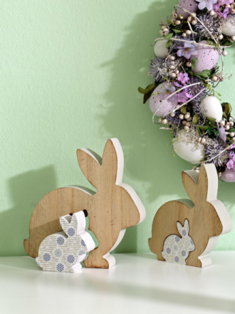 2 3D-harer brun