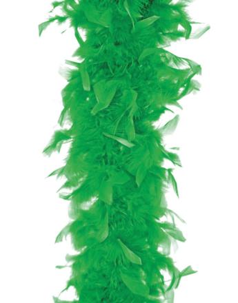 Grønn Fjærboa 180 cm
