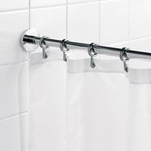 HeFe elegant rund duschdraperistång (montering med skruvar)