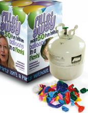Stor Heliumtank 420 Liter Inkludert 50 stk 23 cm Ballonger for helium