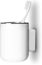 Menu tannbørste holder - vegg - svart