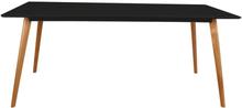 Esstisch Eiche / Schwarz 180 cm - Nordic