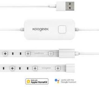 Koogeek Wi-Fi Smart LED lys strip med HomeKit, Alexa og Google Home