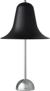 Pantop bordlampe fra Verpan - Sort krom