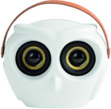 Kreafunk aOwl højtaler i hvid