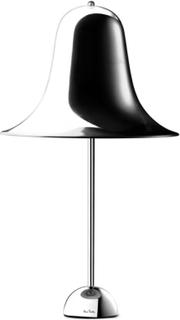 Pantop bordlampe fra Verpan Krom