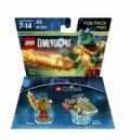 Lego Dimensions - Fartøj Og Cragger Fun Pack - Gucca