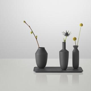 Muuto Balance - sæt med tre vaser i sort