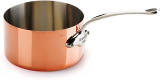 Mauviel M'150s kasserolle kobber/stål 0,8 liter Ø12cm H7cm