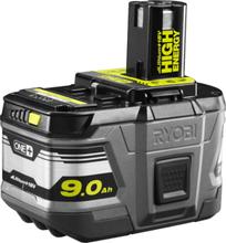 Batteri Ryobi One+ High Energy 9,0 Ah, 18 V