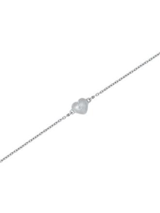 GD 1370 Mandal sølv armbånd hjerte