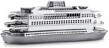 Metal Earth - Fartyg, Commuter Ferry - Modellbyggsats i metall