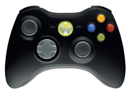 Xbox 360 Wireless Controller for PC And X360 (Black) /PC