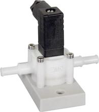 B.I.O-TECH e.K. Gennemstrømningssensor PVDF-Chemie PVDF-Chemie Driftsspænding (område): 4.5 - 24 V/DC måleområde: 0.025 - 2.5 l/min 1 stk