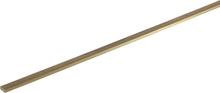 Mässing Platt Profil (L x B x H) 500 x 2.5 x 1 mm 1 st