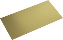 Messing Plade (L x B) 400 mm x 200 mm 0.5 mm 1 stk