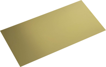 Mässing Plåt (L x B) 400 mm x 200 mm 0.5 mm 1 st