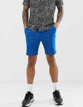ASOS DESIGN skinny smart shorts in royal blue linen - Royal blue