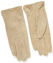 Pieces Nellie Suede Gloves Natural S