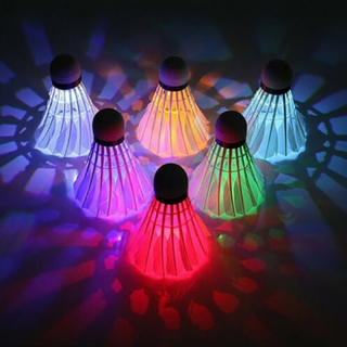 6x Ledde Badminton Flipper Lampa Badminton Flipper Färg Kreativitet
