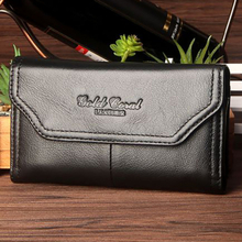 High Quality Men Genuine Leather Cell/Mobile Phone Case Cover Skin Belt Casual Hip Bum Real Cowhide Waist Pack Purse Fanny Bag