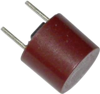 ESKA 887114 Mikrosikring med radial tråd rund 500 mA 250 V Træg -T- 1 stk