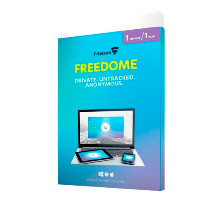 F-Secure Freedome VPN 1 enhed / 1 år (Win/Mac/Android/iOS)