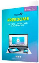 F-Secure Freedome VPN - 1 enhet (Win/Mac/Android/iOS)
