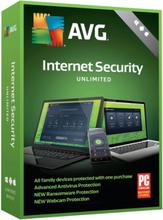 AVG Internet Security Unlimited 2019 - ubegrænset dækning / 1 år