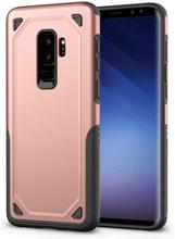 Samsung galaxy s9 plus hybrid skal med grepp - rose guld 2d28d7ec0086e