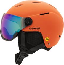 Everest Slope Visor Mips Helmet Laskettelukypärät ORANGE