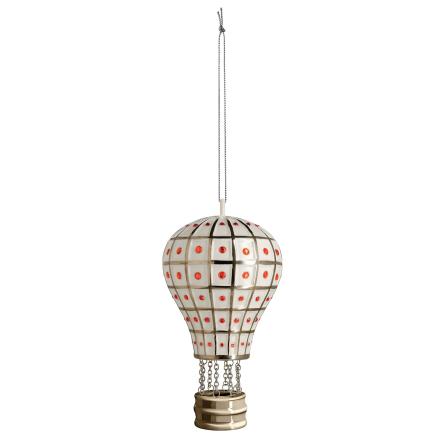 Alessi - Mongolfiera Reale Ornament, Hvit